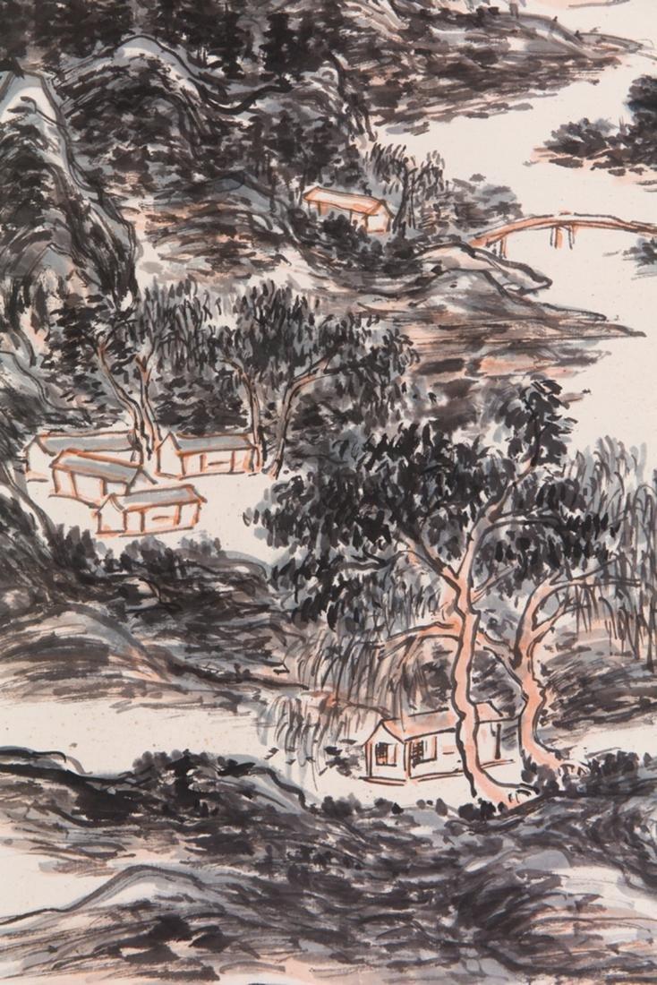 Huang Binhong's Landscape painting - 5