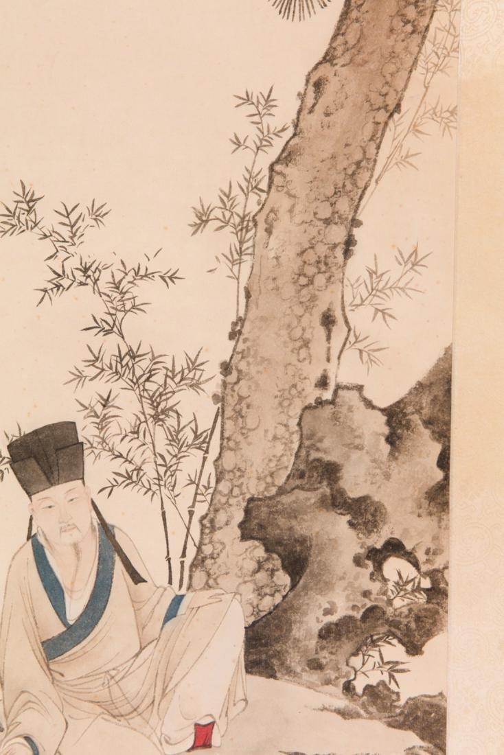 Chen Yunzhang pine tree painting - 5