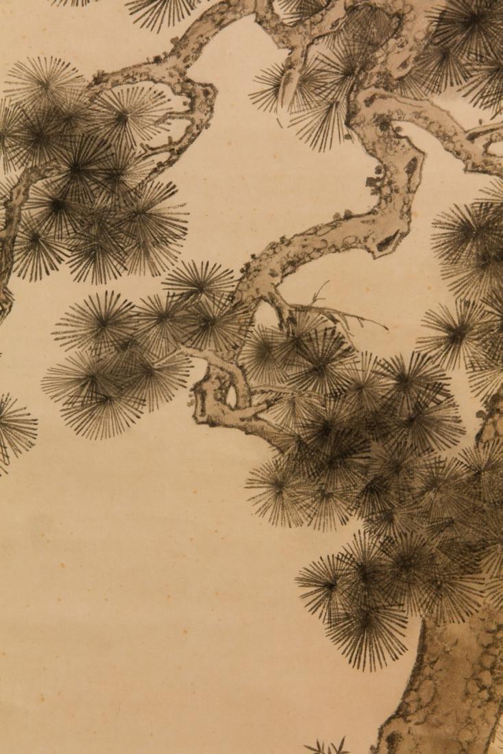 Chen Yunzhang pine tree painting - 7
