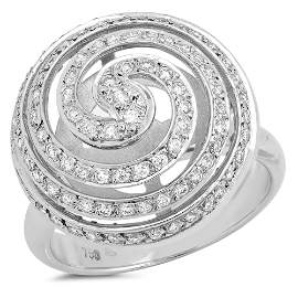 18K White Gold 0.63ct G VS Diamond Ring