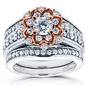 wedding-ring-sets - RingSize - 1.3 - CARATS - 1.15 -