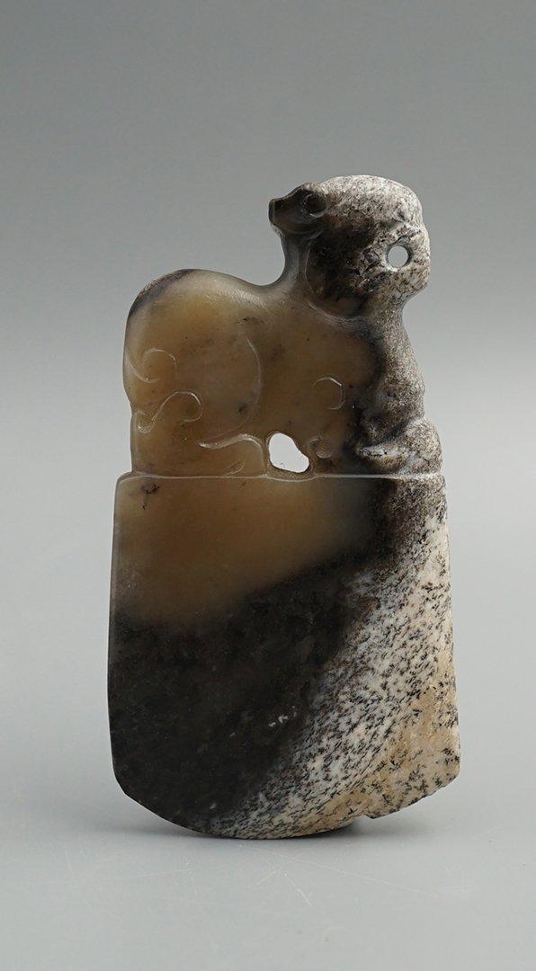West Han Dynasty, A Tomahawk Pendant