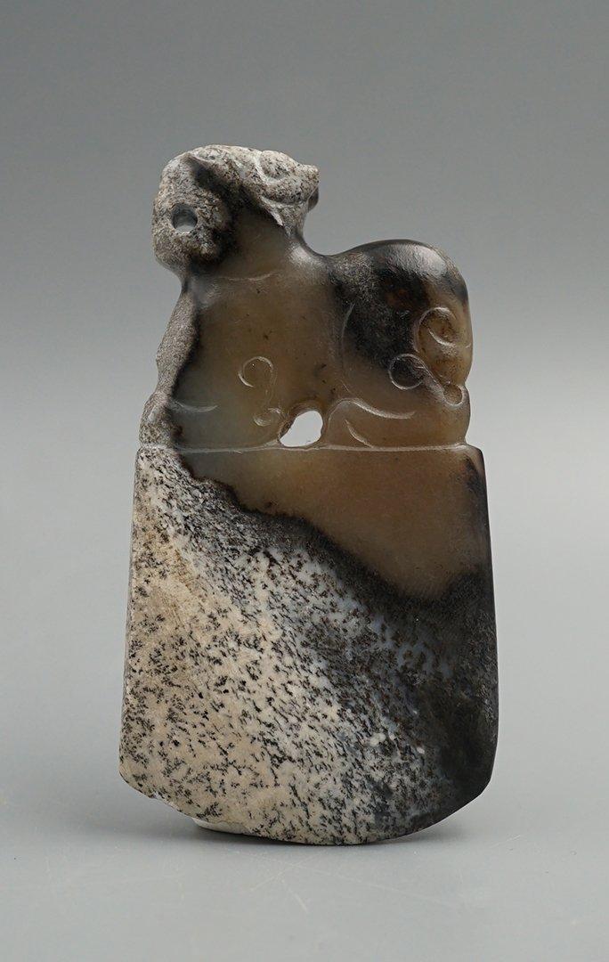 West Han Dynasty, A Tomahawk Pendant - 2