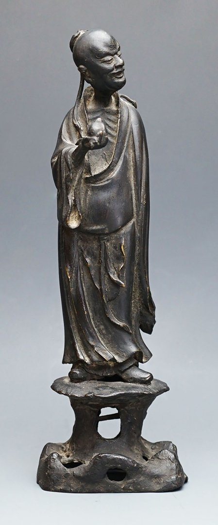 "Ming Dynasty, A ""Dong Fang Shuo"" Bronze Sculpture"