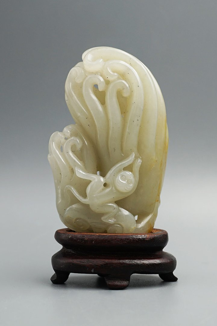 Middle and Late Qing Dynasty, He Tian Jade Decoration