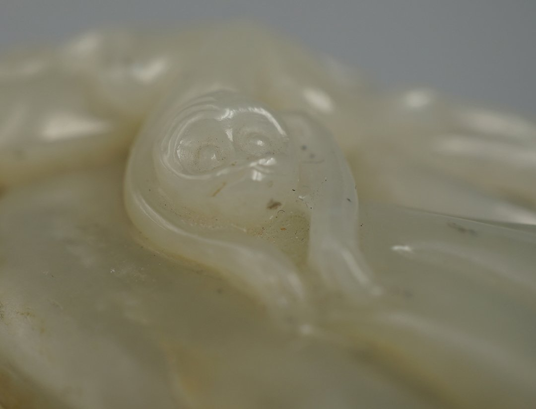 Middle and Late Qing Dynasty, He Tian Jade Decoration - 3