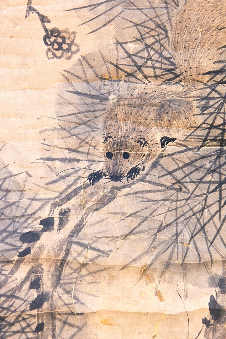 """A Chinese Ink Painting """"squirrel"""" - 2"""