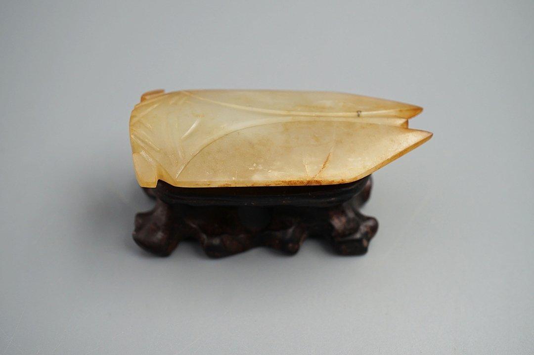 West Han Dynasty, A Yellow Jade Cicada