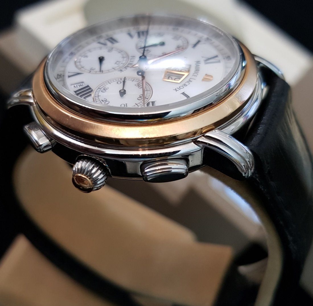 Maurice Lacroix Masterpiece Flyback Chronograph 18k Stl - 6