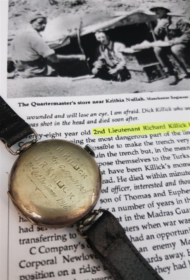 Rarest Omega Officers Trench Watch (Dedicated WWI)