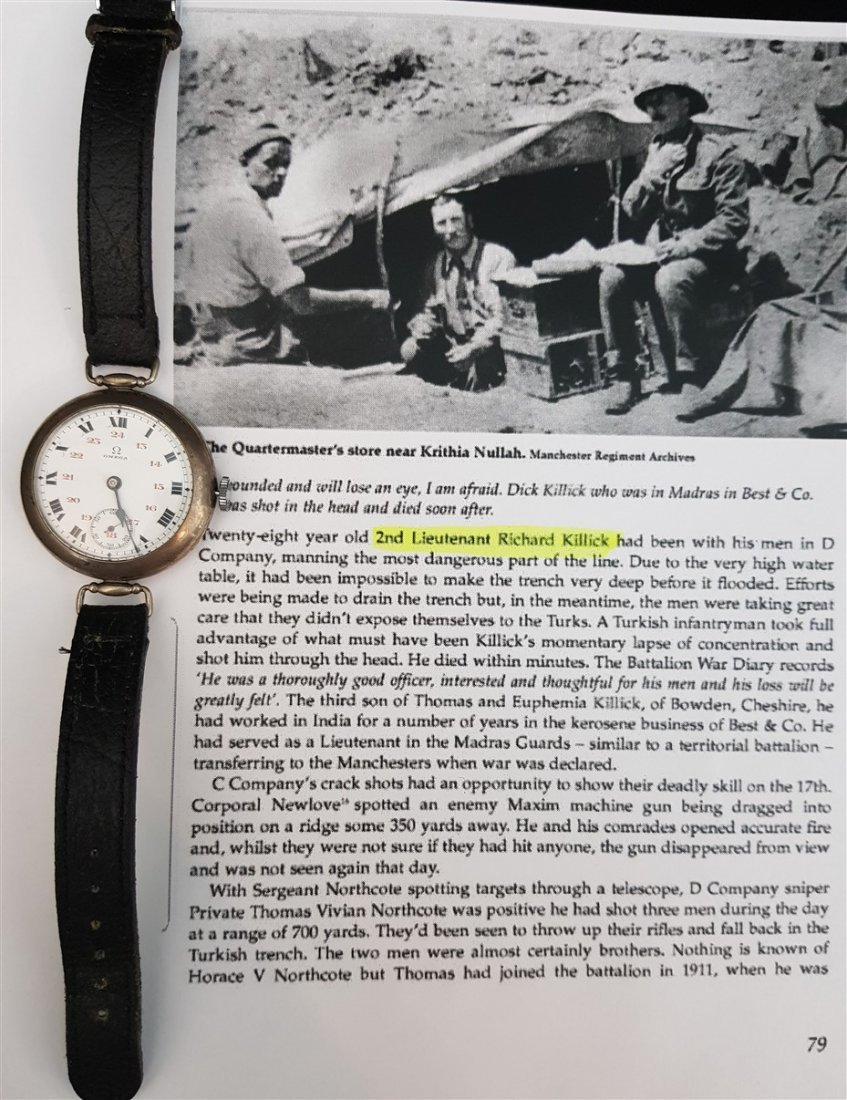 Rarest Omega Officers Trench Watch (Dedicated WWI) - 2