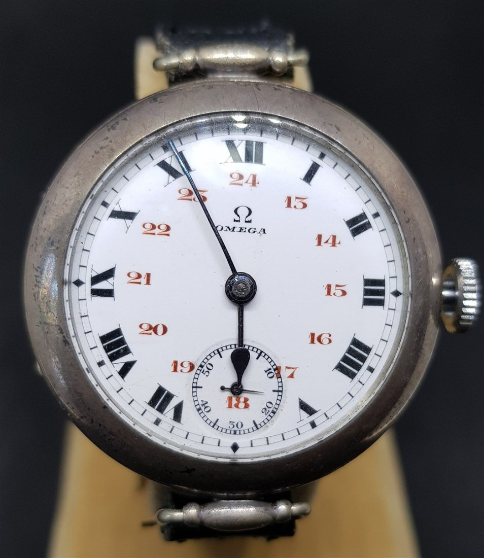 Rarest Omega Officers Trench Watch (Dedicated WWI) - 3
