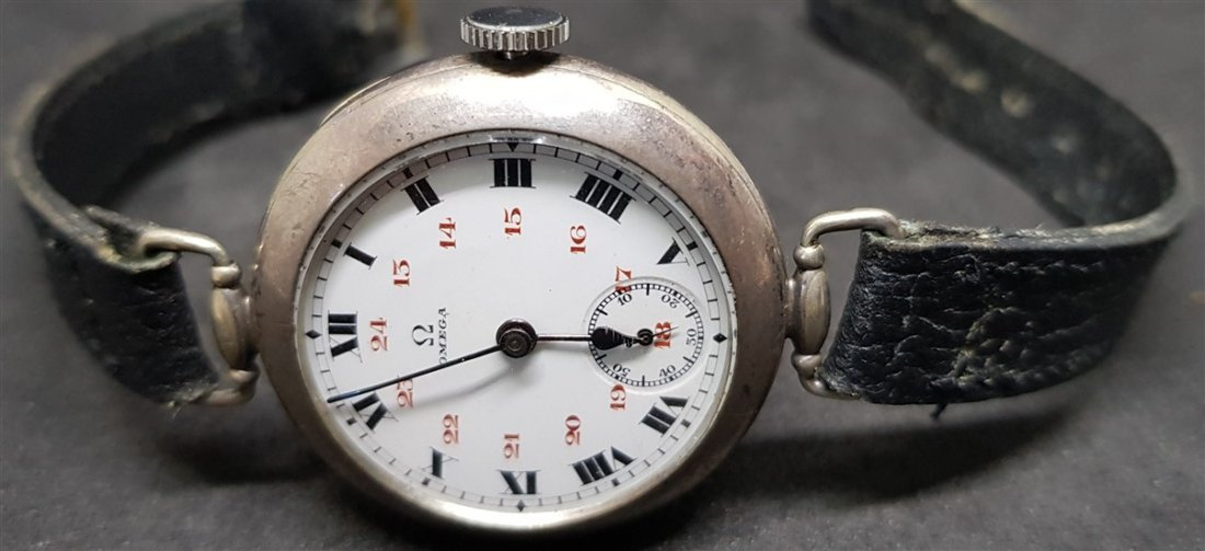 Rarest Omega Officers Trench Watch (Dedicated WWI) - 5