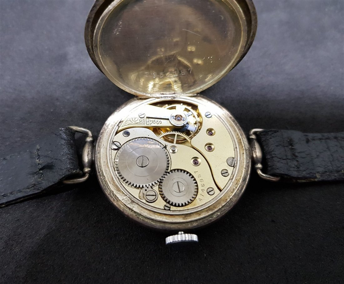 Rarest Omega Officers Trench Watch (Dedicated WWI) - 8