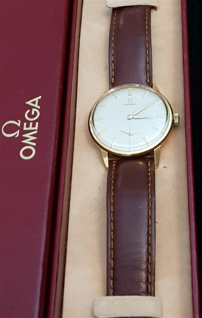 Omega Solid 18k .750 Cal 268 - 2