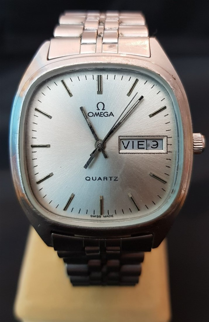Gentleman's Omega Quartz 1980's Watch