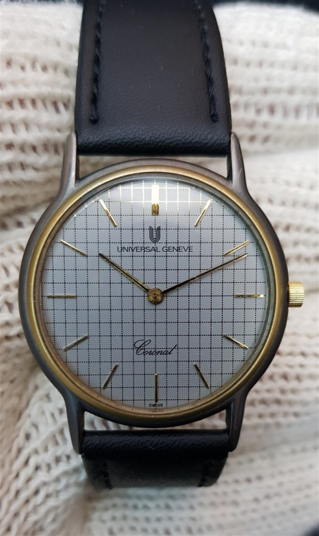 Universal Geneve Coronal Cell Dial TwoTone