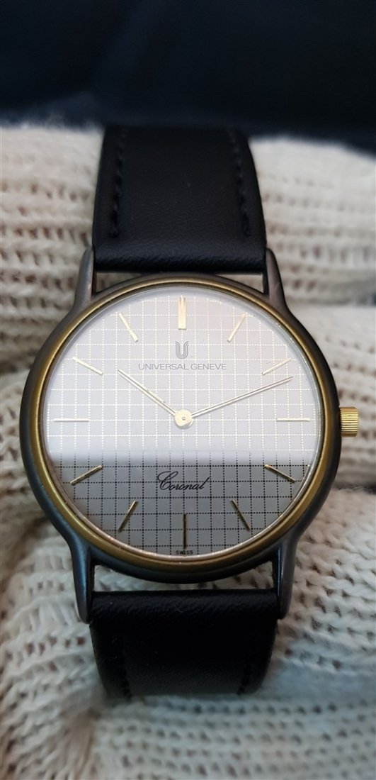 Universal Geneve Coronal Cell Dial TwoTone - 2