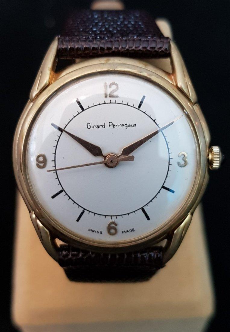 Gentleman's 1940-60's Girard Perregaux Hand Wound