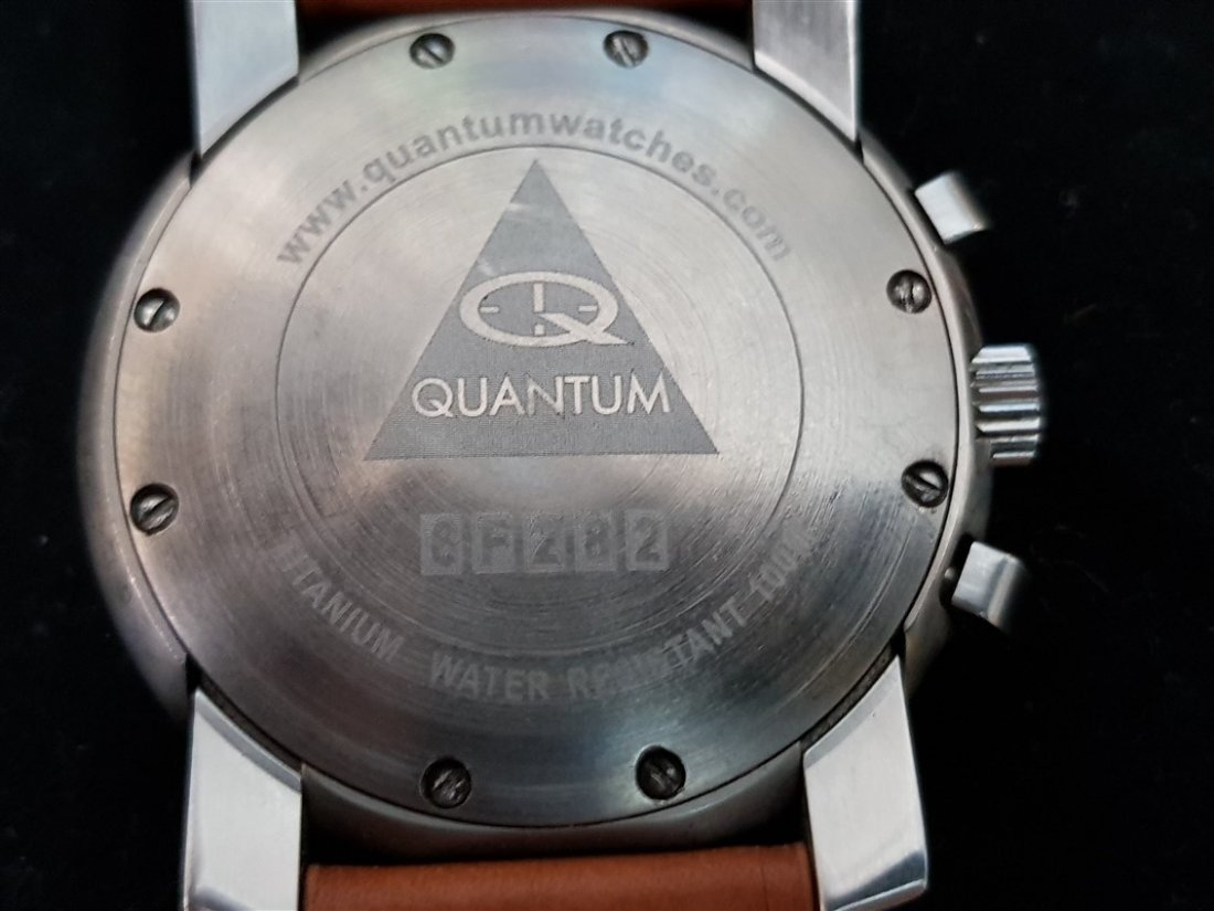 Quantum Oversize All Titanium Chronograph Watch - 4