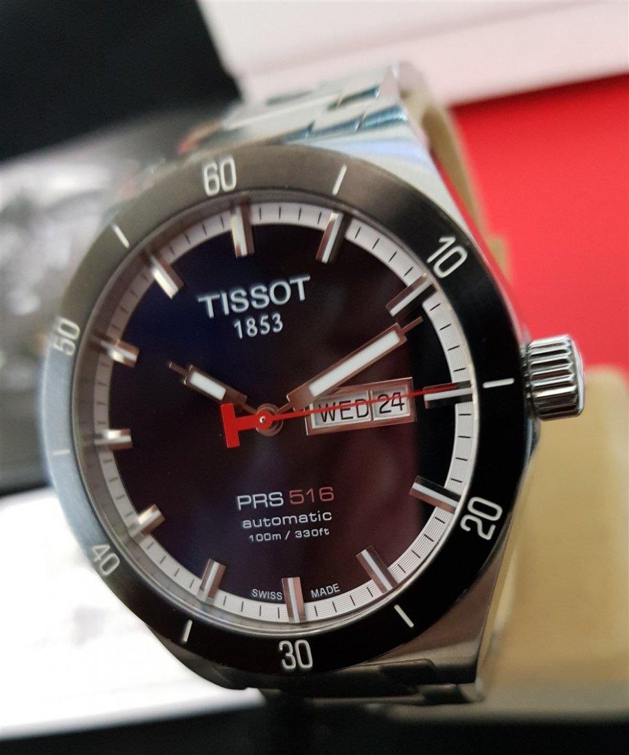 Tissot PRS 516 Automatic Dark Blue Dial Rallye BOX SET