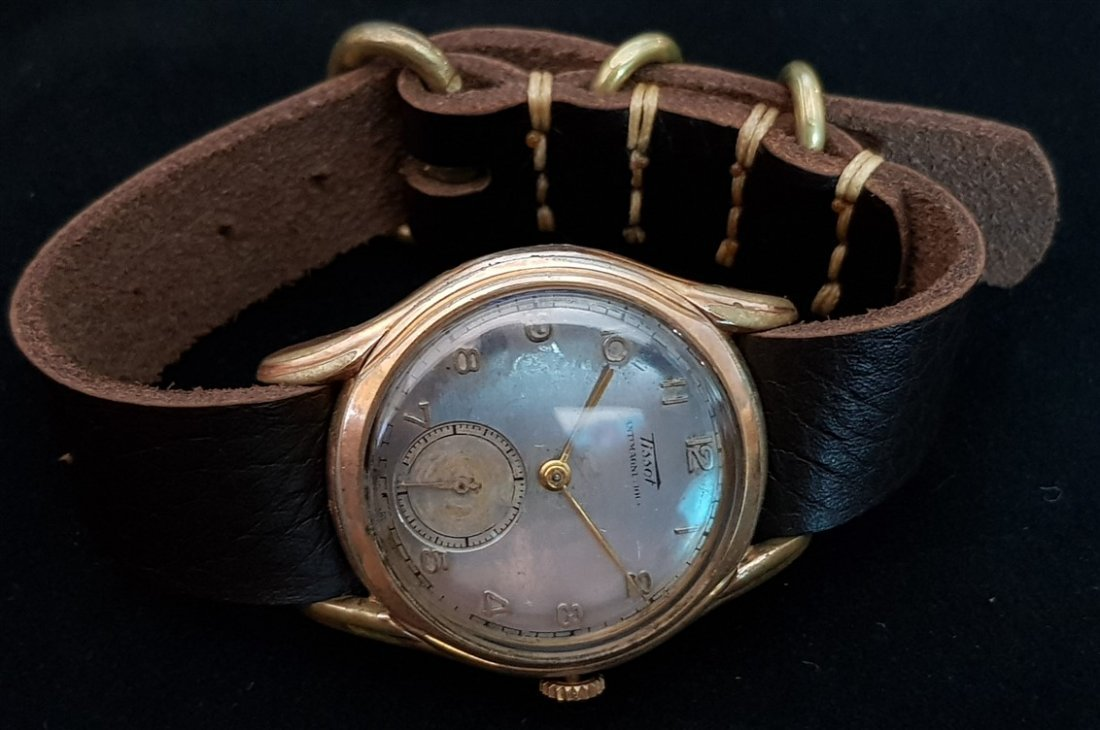 Rare Tissot Antimagnetique