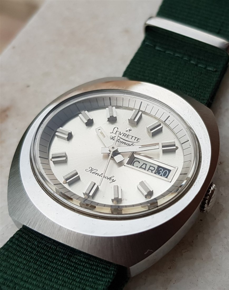 Super Rare Swiss Levrette Automatic Kuntucky Compressor