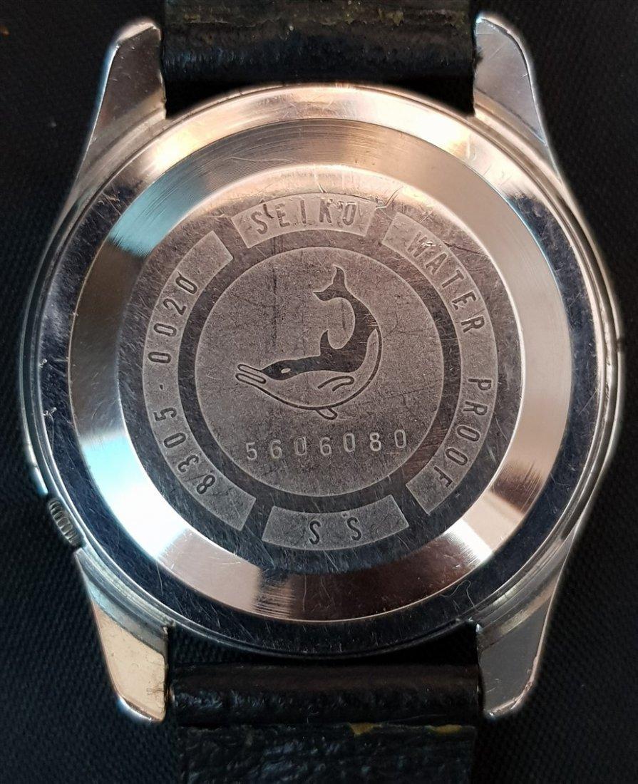 Rare 1960's Seikomatic-R  Diashock 30 Jewels Japan - 4