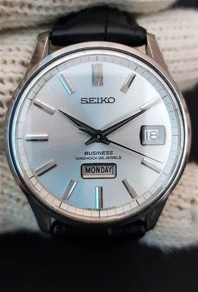 Seiko 1960's Business Diashock 26 Jewels