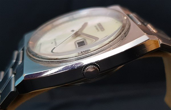 Ultra Rare 70's Seiko Automatic Mother Of Pearl Dial - 2