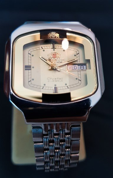 Very Rare All Original Vintage Orient Crystal - 2