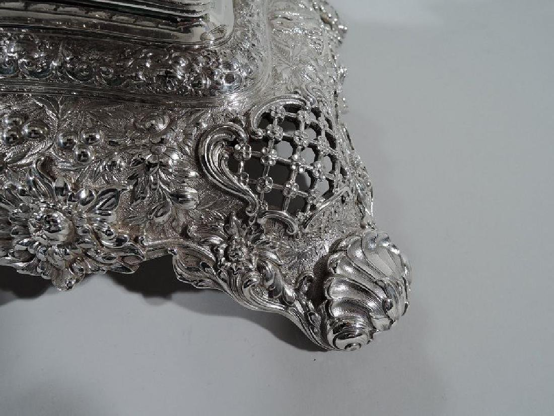 Rare and Striking Tiffany Repousse Sterling Silver - 10