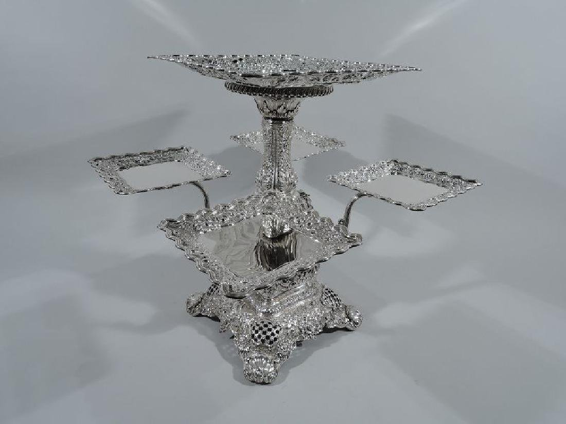 Rare and Striking Tiffany Repousse Sterling Silver