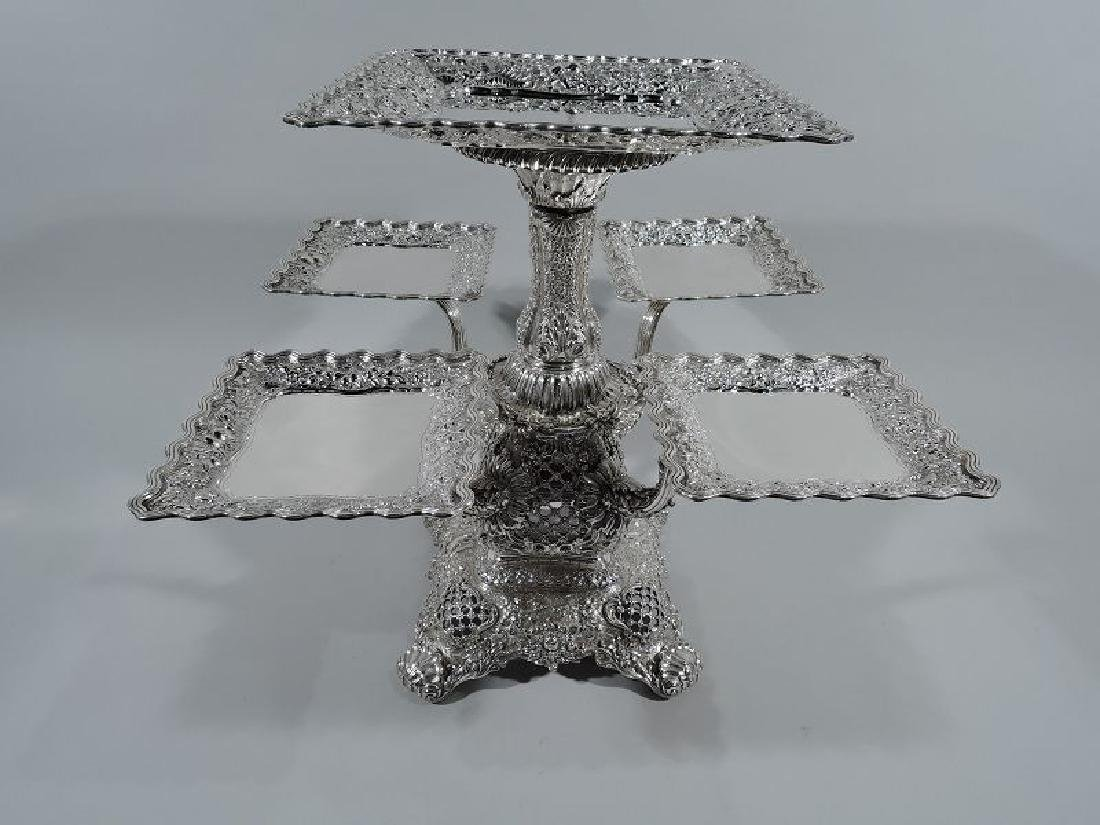 Rare and Striking Tiffany Repousse Sterling Silver - 2