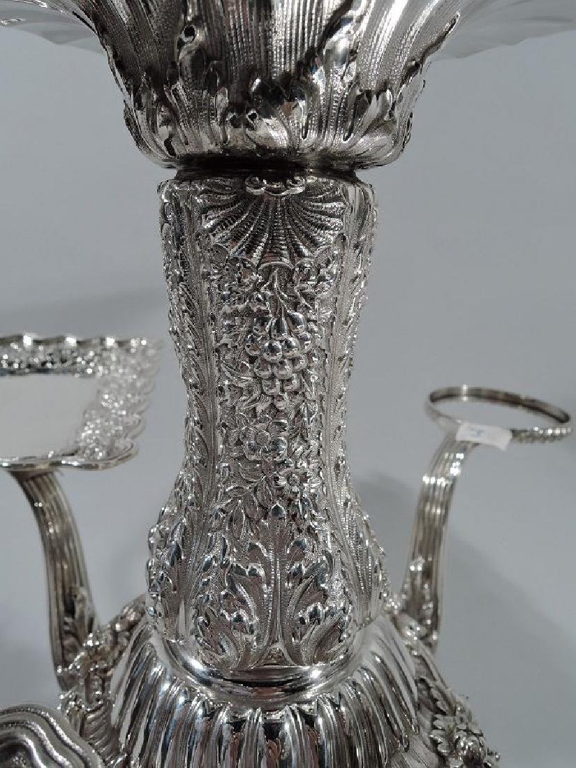 Rare and Striking Tiffany Repousse Sterling Silver - 5