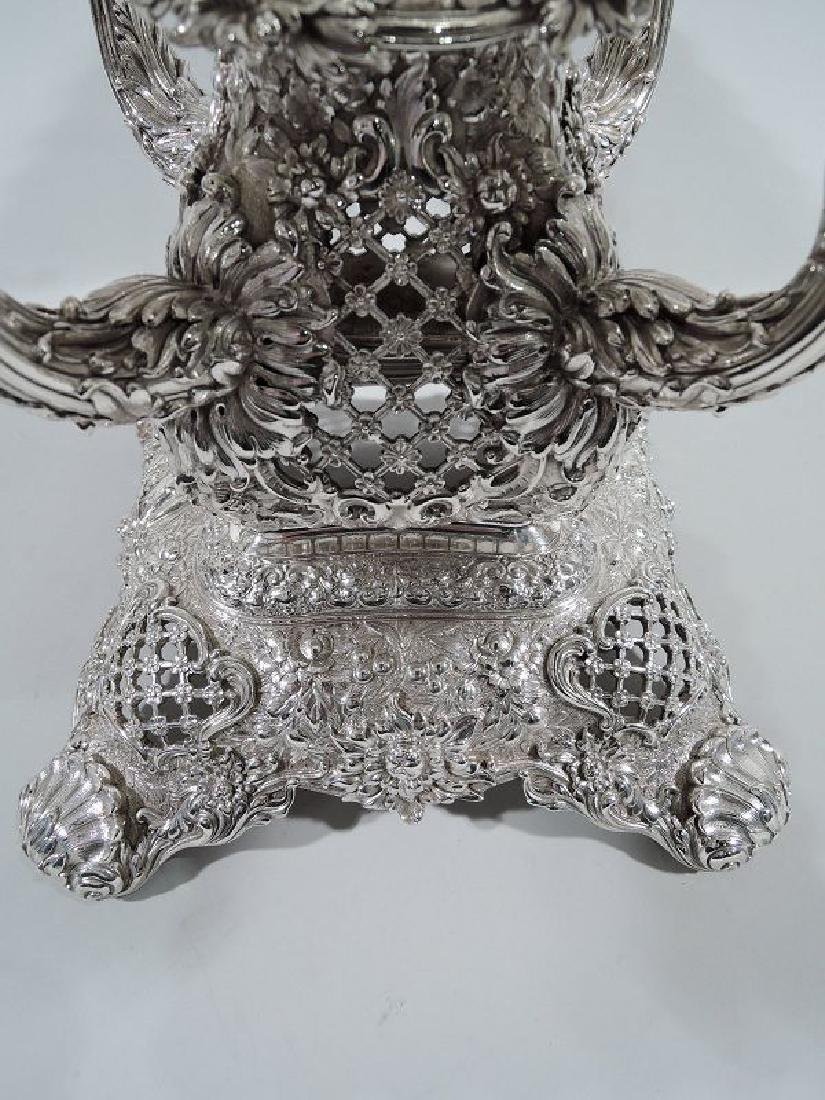 Rare and Striking Tiffany Repousse Sterling Silver - 7