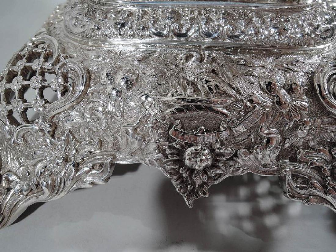 Rare and Striking Tiffany Repousse Sterling Silver - 8
