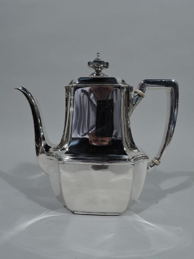Tiffany Sterling Silver Coffeepot in Desirable Hampton