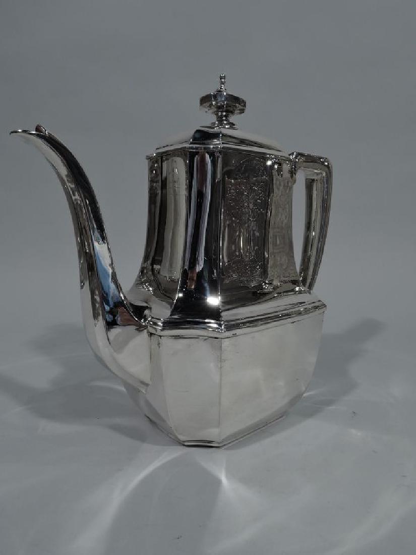 Tiffany Sterling Silver Coffeepot in Desirable Hampton - 2