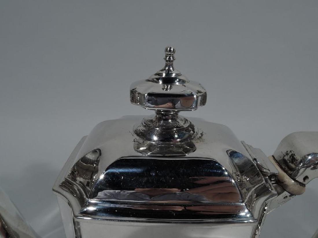 Tiffany Sterling Silver Coffeepot in Desirable Hampton - 4