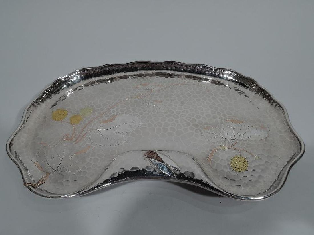 Tiffany Japonesque Mixed Metal and Hand-Hammered