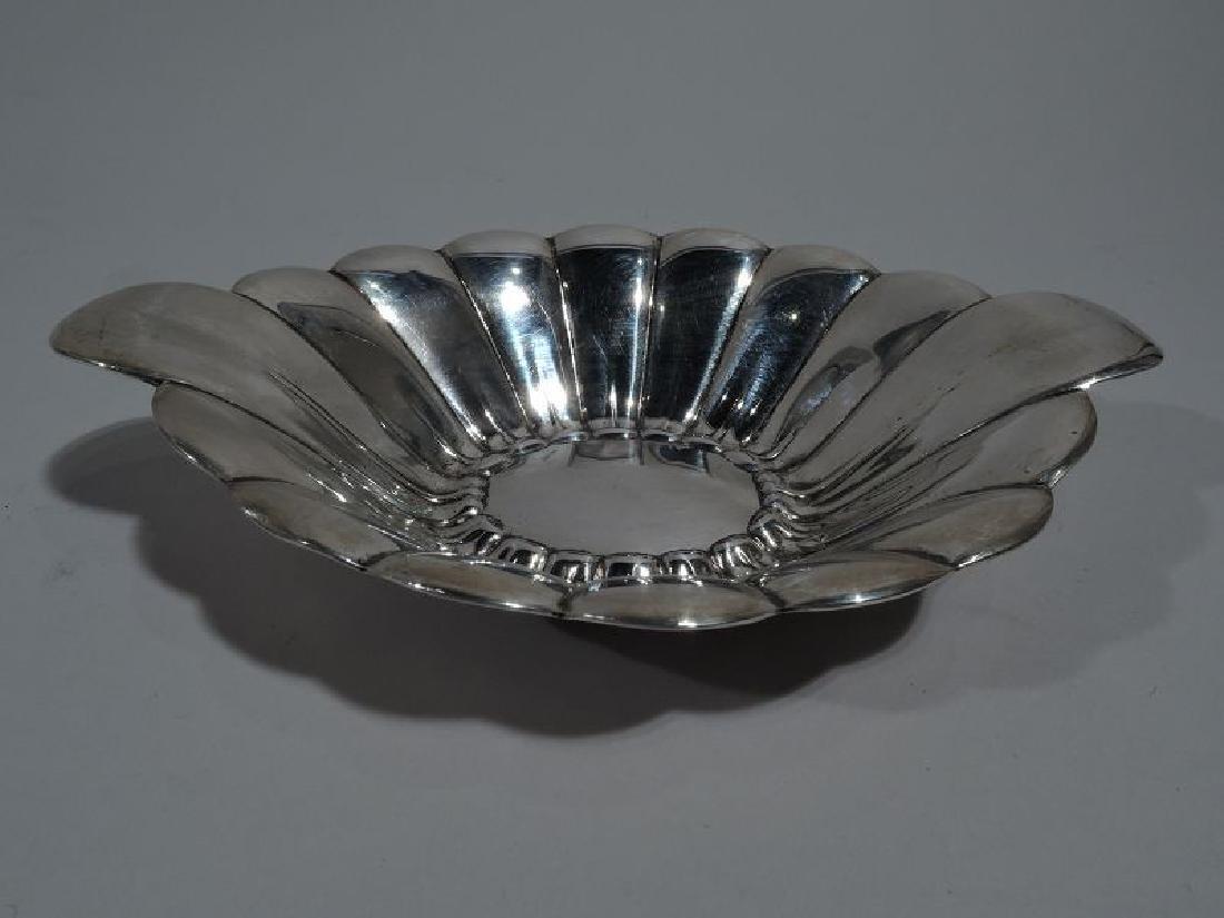 Reed & Barton Midcentury Modern Sterling Silver Petal