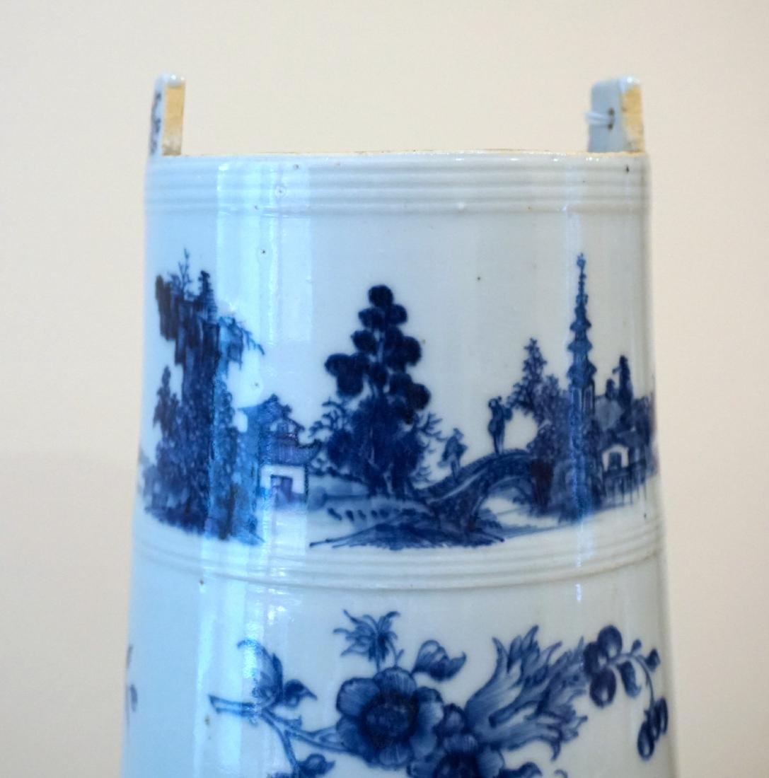 A Rare Chinese Export Blue and White 'Landscape' - 6