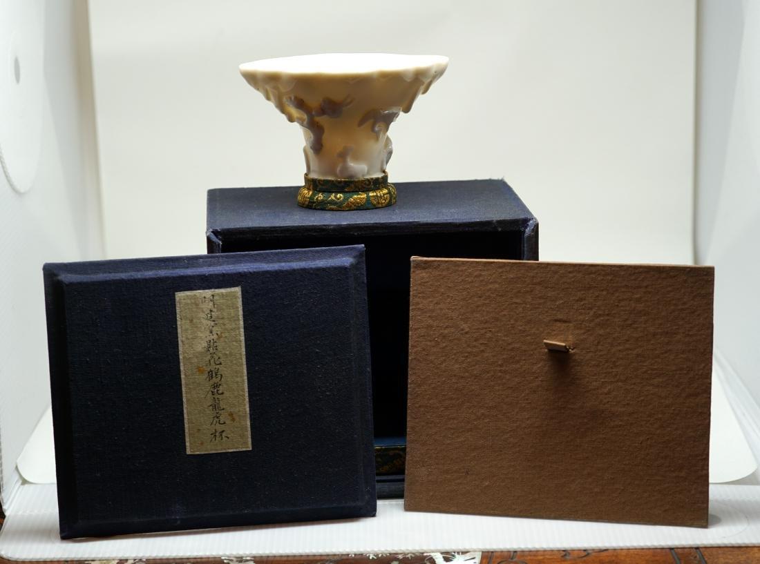 A Chinese Dehua Libation Cup, Ming Dynasty - 7