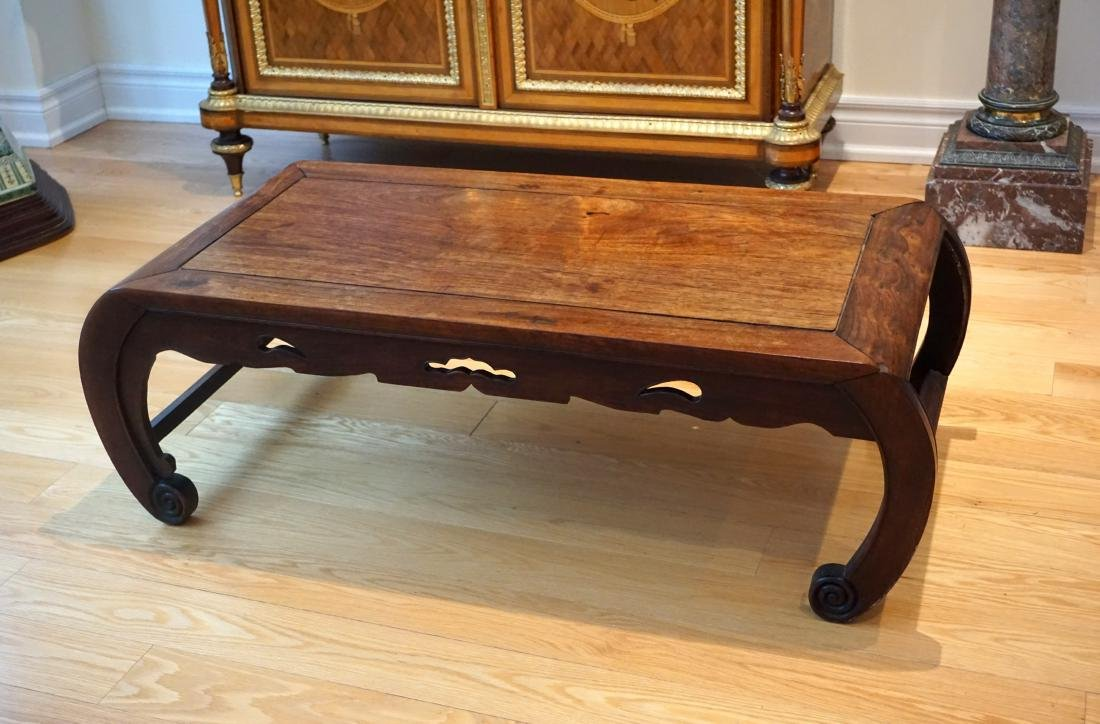 A Chinese Huali Low Table - 5