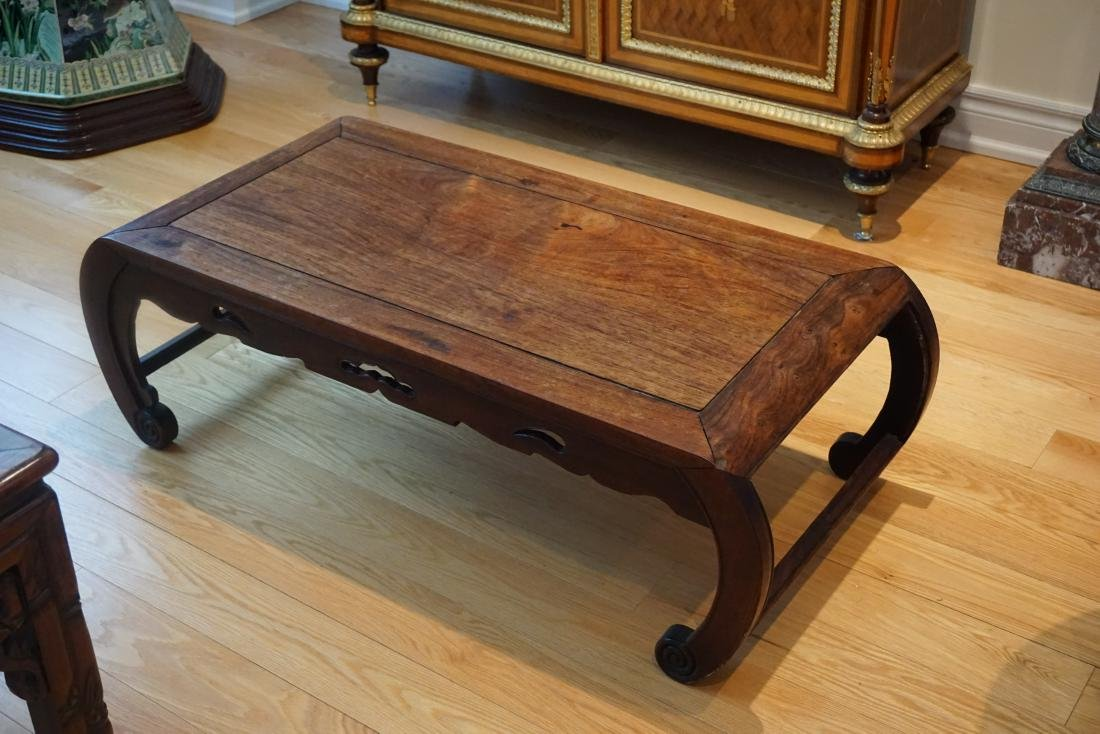 A Chinese Huali Low Table - 8