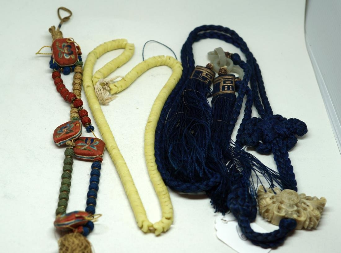 A Pair of Chinese Hanging Pendants
