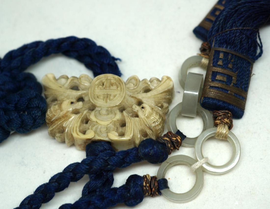 A Pair of Chinese Hanging Pendants - 3