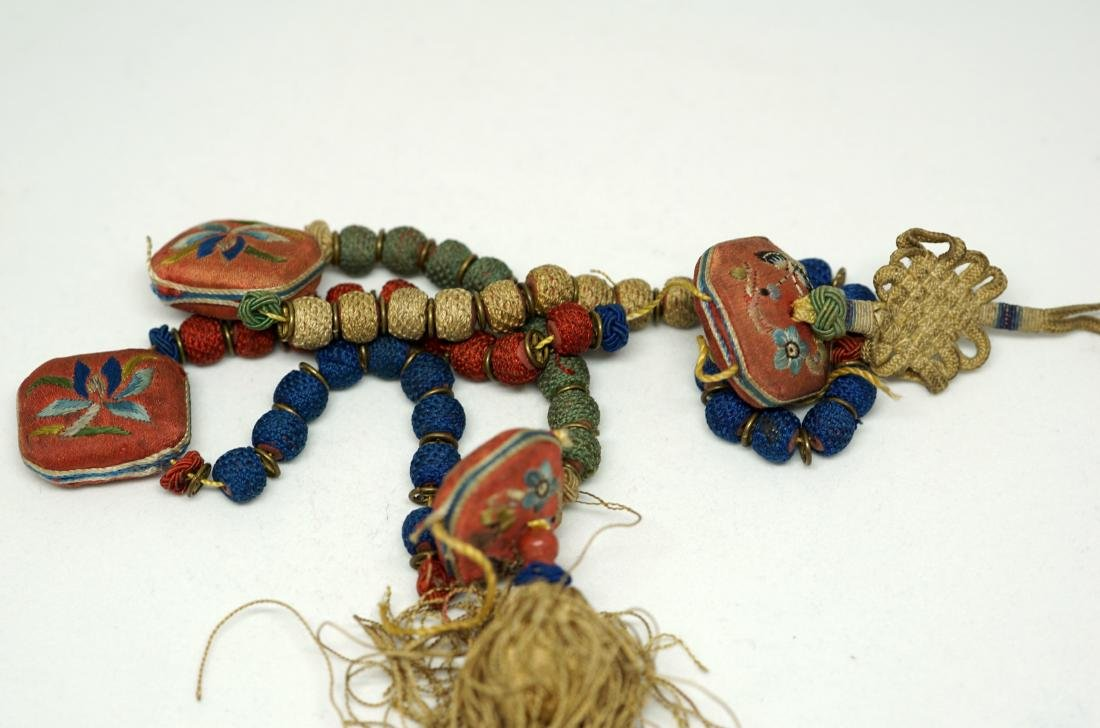 A Pair of Chinese Hanging Pendants - 6