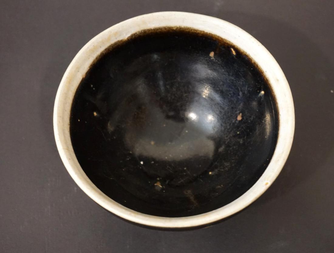 A Chinese Black Glazed Jian Tea Bowl